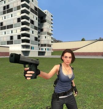 Resident Evil 3 Remake - Jill Valentine Playermodel