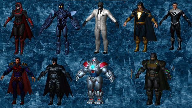 DC Legends 3D Models