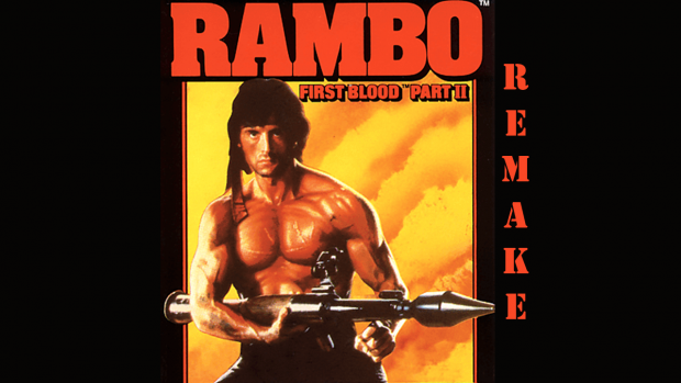 Rambo: First Blood Part II (C64) Remake Pre Release #1