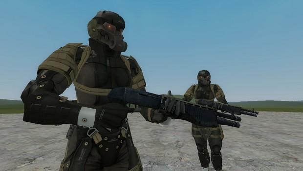 Metal Gear Solid 4 Frog Soldiers Playermodel NPC