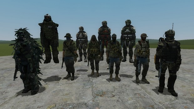 CELL Soldiers NPCs