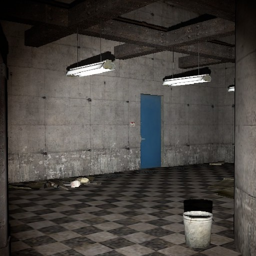 Mystery of Abandonment Horror map
