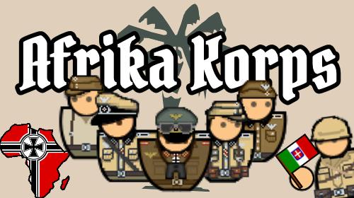 POW Afrika Korps Variable