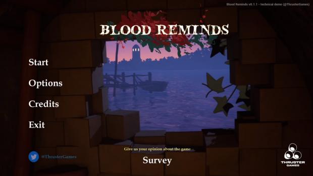Blood Reminds - Technical Demo v0.1.1 (ALPHA)