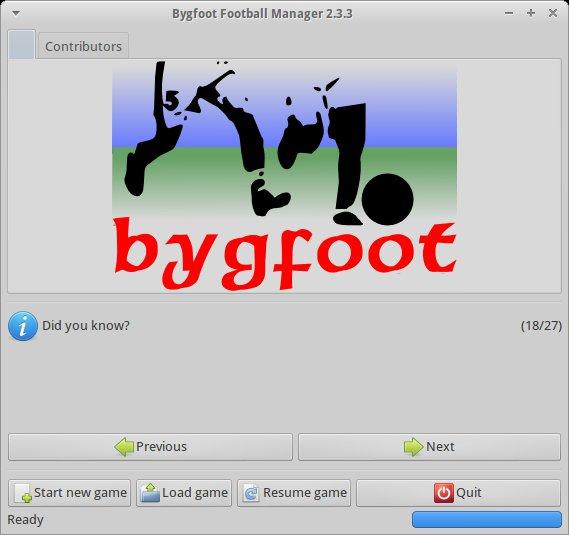 Bygfoot 2.3.2 Source code