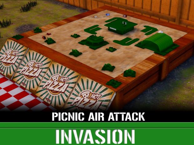 Backyard Picnic: Air Attack Invasion