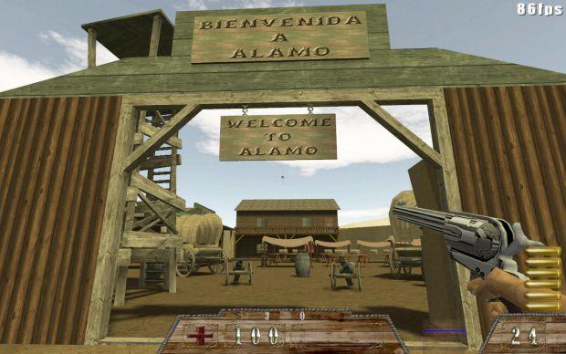 Smokin'Guns Alamo map update for v1.1b4