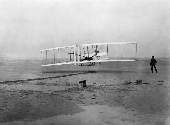 Wright Flyer no Banner