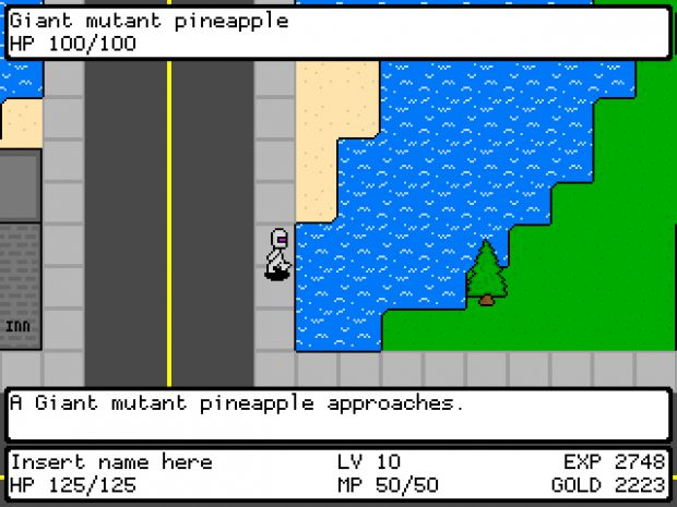 Pineapple Apocalypse RPG for Wii