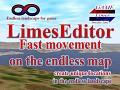 LimesEdiror 0.0.5 Fast movement on the endless map