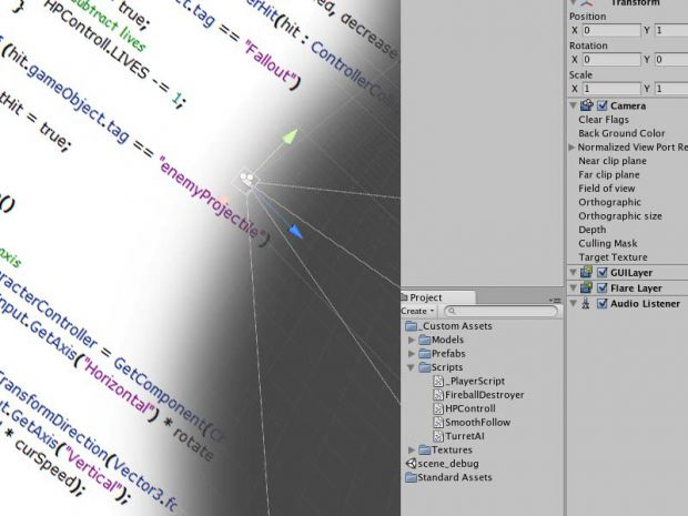 Unity Tutoral Part 1: In the beginning.. (files)