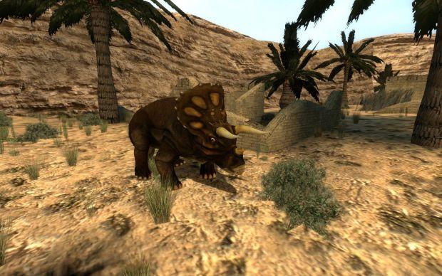 Triceratops NPC