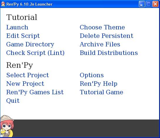 Ren'Py SDK - Win & Mac