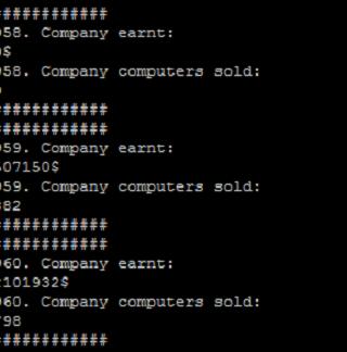 Company simulation - Alpha