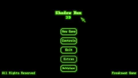 Shadow Run 3D Fonts Change