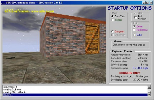 Visual Basic 6DX Extended Demo