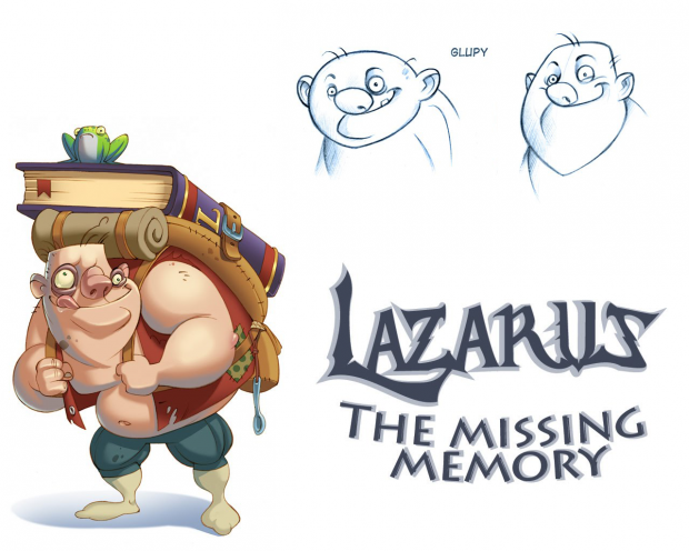 Lazarus: The Missing Memory wallpaper pack