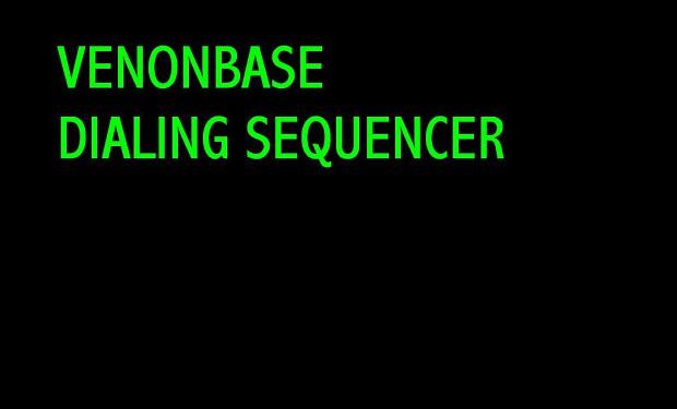 VenonBase DialingSequencer 1.0