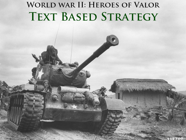 World War II: Heroes of Valor TBS v0.5