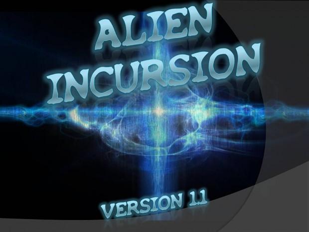 Alien Incursion Version 1.1