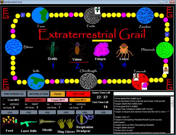 Extraterrestrial Grail version 1.0.0.1 (installer)