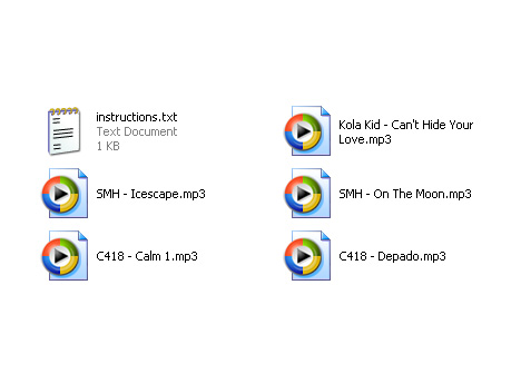 Music Pack (9.35 mb)