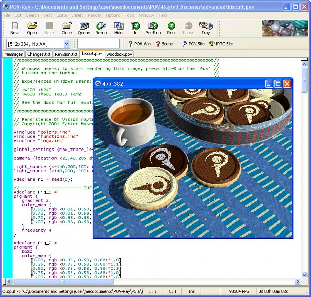 POV-Ray Windows 32-bit