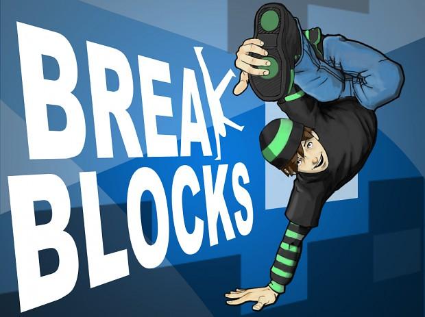 The First Break Blocks Logo