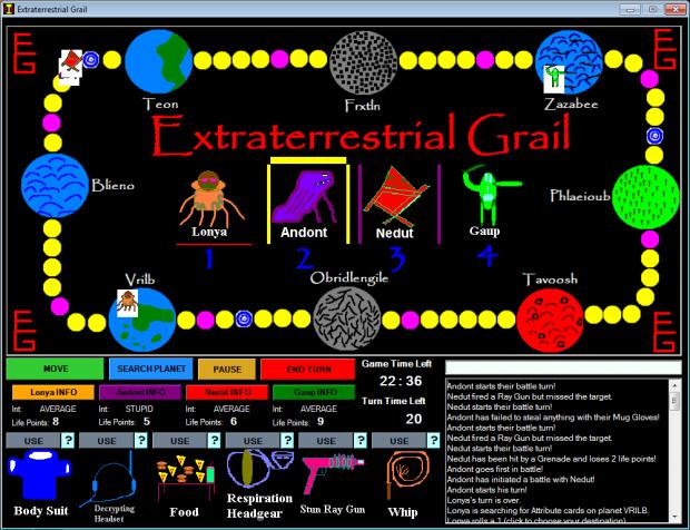 Extraterrestrial Grail version 1.0.0.5 (installer)