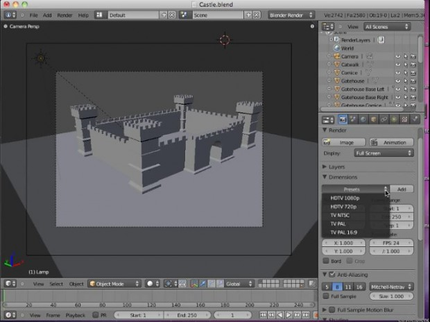 Blender 2.5.x Video Tutorials #2 by Neal Hirsig