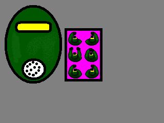 GasMasked Yellow Soldier
