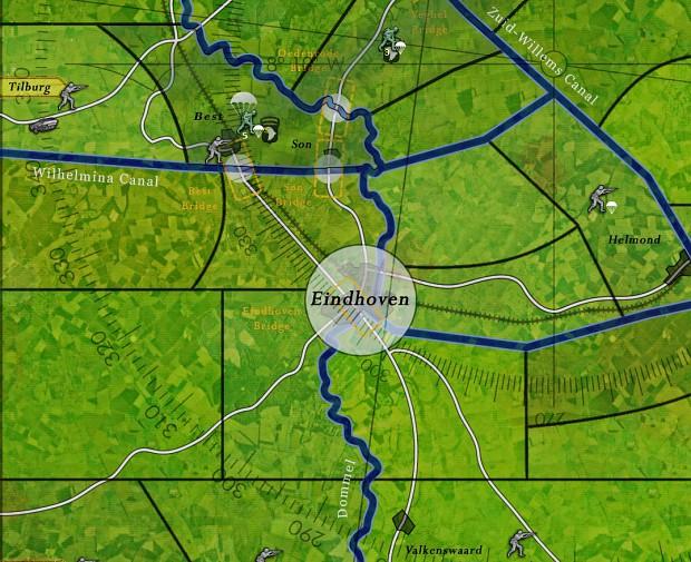 Arnhem map