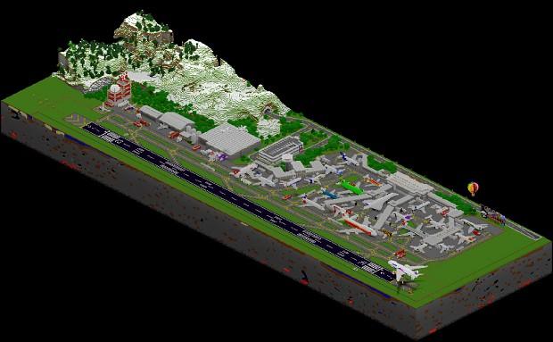 Biggest Minecraft Airport