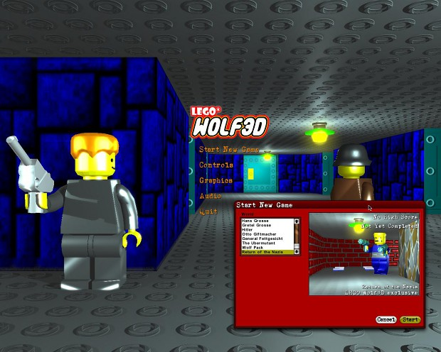 LEGO Wolf3D Beta 2 Setup File