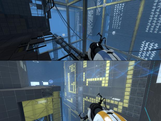 Portal 2 ALTERNATIVE #1 #2 Co-op maps