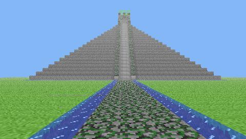 Wezley's Mayan Pyramid.
