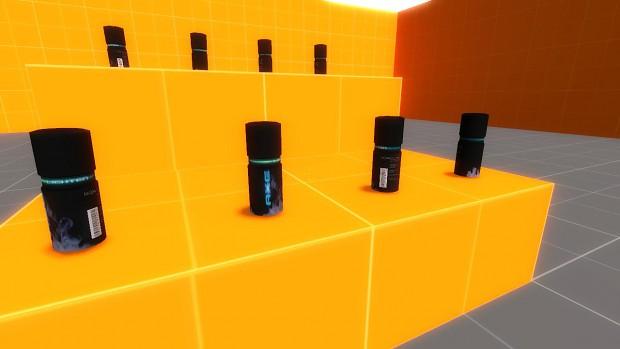 """Axe """"Lighten"""" Model for Source"""