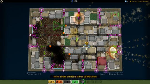 Atom Zombie Smasher Linux Demo
