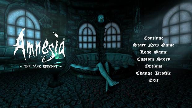 Custom Amnesia Menu Background