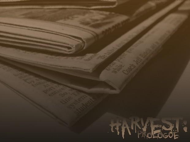 Harvest: Prologue - Part I