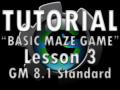 Basic Maze Game Lesson 3