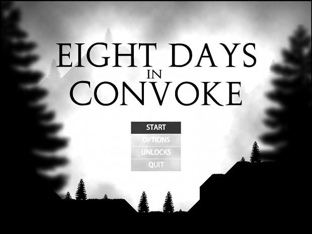 Eight Days in Convoke - Pre-release, v0.9_01