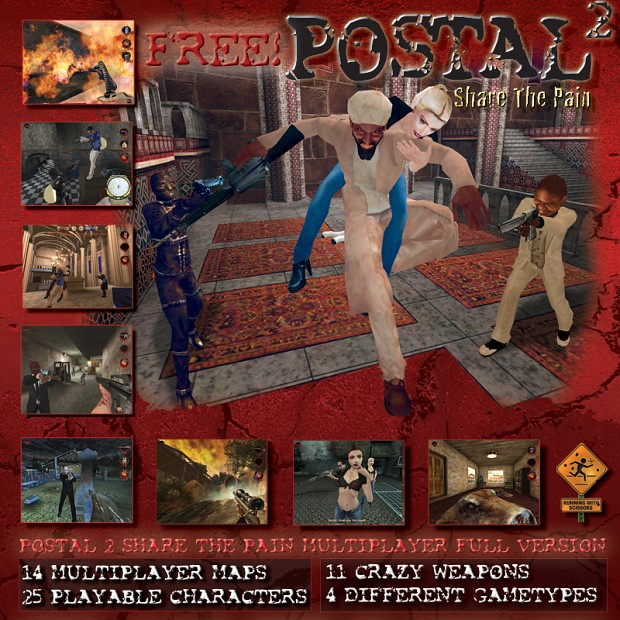 Postal 2 Share The Pain MP - Linux Version