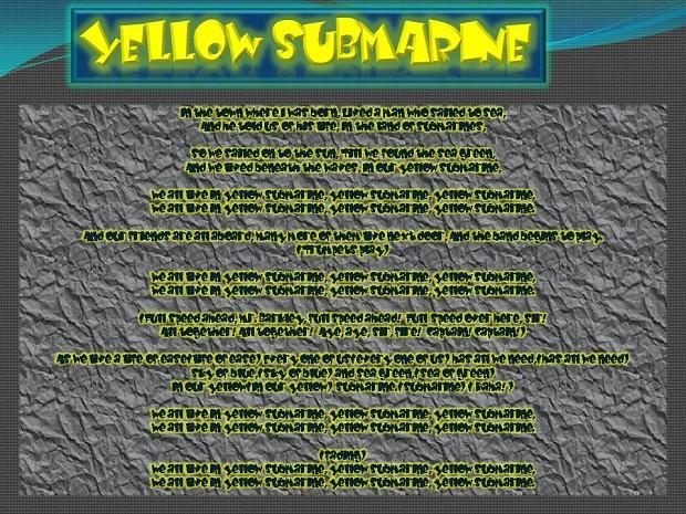 Yellow Submarine Beta