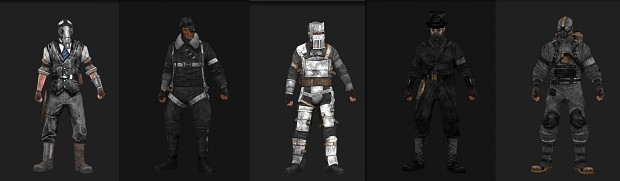 Steampunk DLC + Foster recolor pack