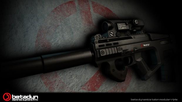 Talon Rifle Wallpaper
