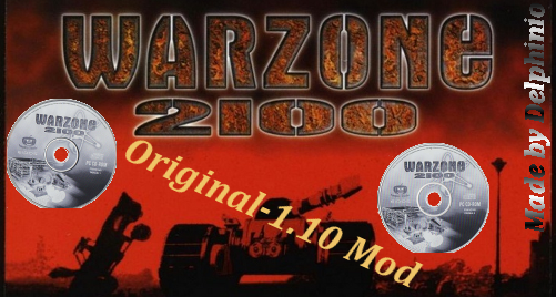 Warzone 2100 - Original 1.10 Balance   1.0