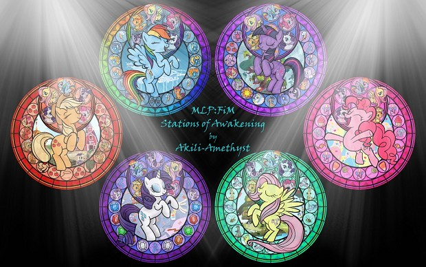 Stained Glass Ponies - Updated (15-7-2012)