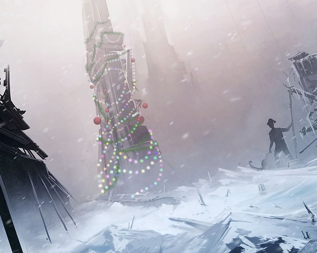 The Spire Christmas Wallpapers 2011