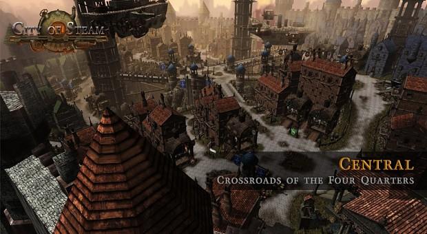 Screenshots of City of Steam